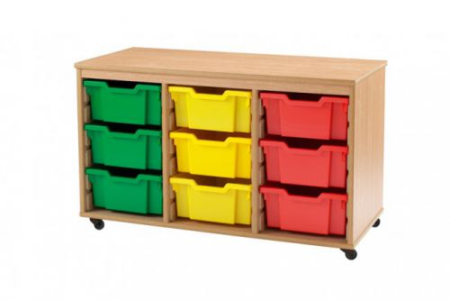 Best Value 9 Deep Tray Unit Mobile Choice of 19 Colours