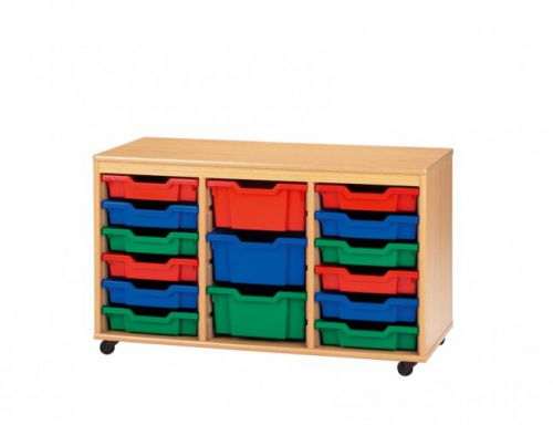 Best Value 3 Deep & 9 Shallow Tray Unit Mobile Choice of 19 Colours