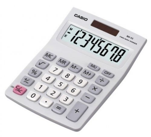 Casio MX-8B Desk Calculator Auto Power Off