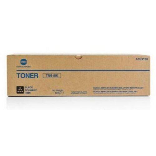 Konica Minolta TN616K Black Toner Cartridge 41.5k pages - A1U9150