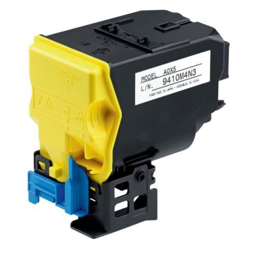 Konica Minolta TNP48Y Yellow Toner Cartridge 10k pages for Bizhub 224e/284e/364e - A5X0250