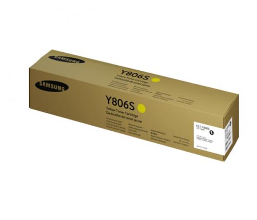 Samsung CLT Y806S Yellow Toner 30K