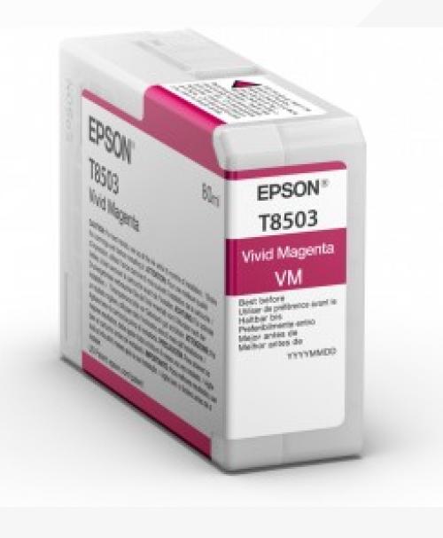 Epson C13T850300 T8503 Magenta Ink 80ml