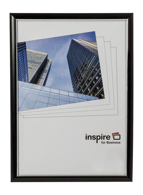 Inspire For Business Certificate A3 Back Loader Black Frame