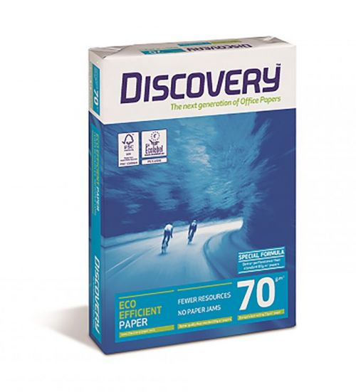 Discovery Paper 70gsm A4 BX10 reams