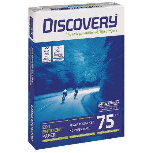 Discovery Paper 75gsm A4 BX10 reams