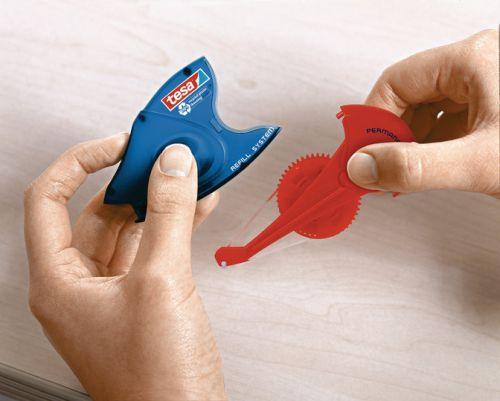 tesa Glue Roller Refill Cassette Permanent ecoLogo 8.4mmx14m 59110 [Pack 5]