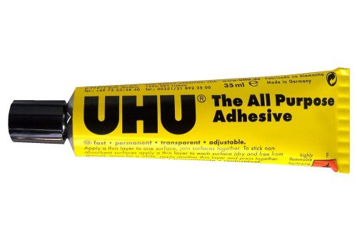UHU All Purpose Adhesive 35ml Blister (Pack 10)