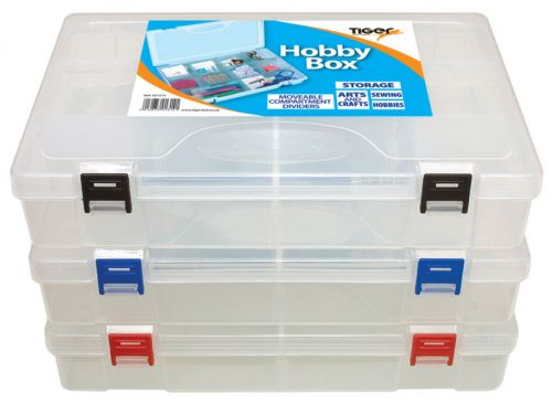 Tiger Hobby Box Polypropylene Clear