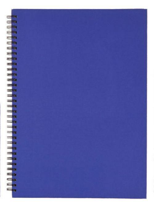 Nuco A5 Hardback Wiro Notebook Feint Ruled (Pack 5)