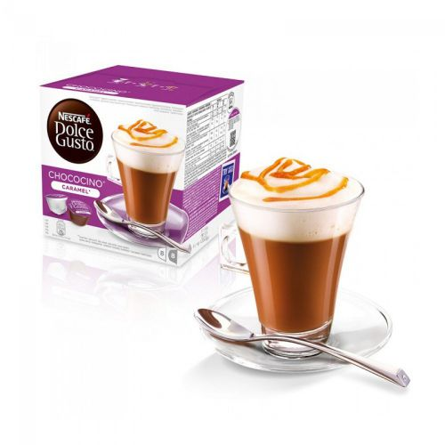 Nescafe Dolce Gusto Chococino Caramel 16 capsules (Pack 3)