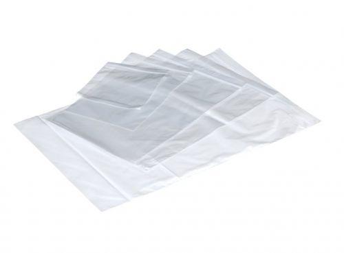 LSM Plain Grip Bags 40mu 102 x 140mm Clear PK1000
