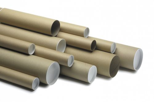 Postal Tube  450 x 75mm Brown PK20