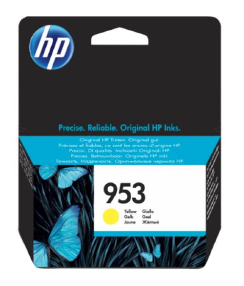 HP F6U14AE 953 Yellow Ink 10ml