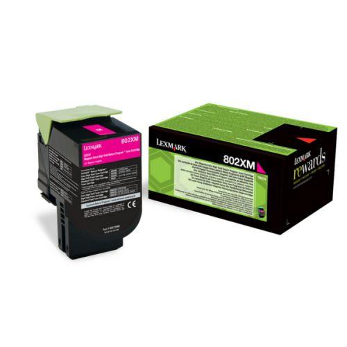 OEM Lexmark 80C2XME Magenta 4000 Pages Original Toner