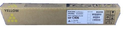 Ricoh 842098 C306 Yellow Toner 6K