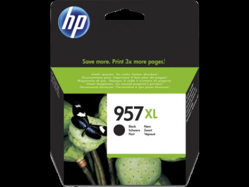 HP 957XL Black Standard Capacity Ink Cartridge 64ml L0R40AE