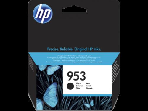 HP 953 Black Standard Capacity Ink Cartridge 24ml for HP OfficeJet Pro 8210/8710/8720/8730/8740 - L0S58AE