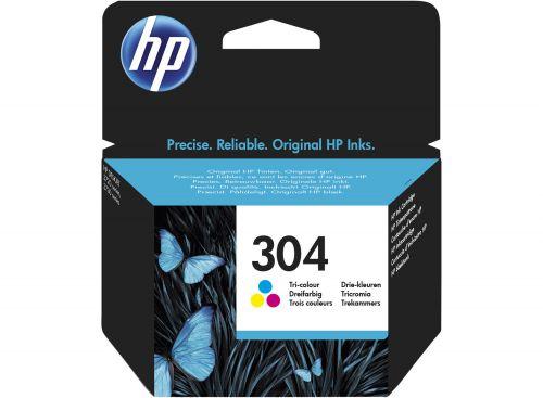 HP N9K07AE 304XL Tricolour Ink 7ml