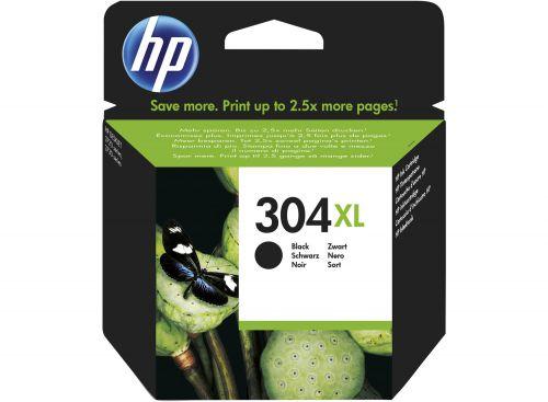 HP N9K08AE 304XL Black Ink 6ml