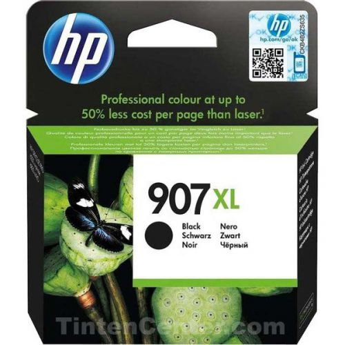 HP 907XL Black High Yield Ink Cartridge 37ml for HP OfficeJet Pro 6960/6970 AiO - T6M19AE