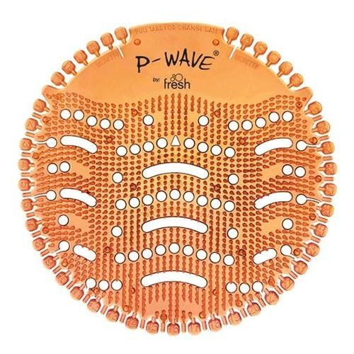 P-Wave Urinal Deodoriser Screens Mango 30 DAY ODOUR CONTROL WZDS60MG [Pack 10]