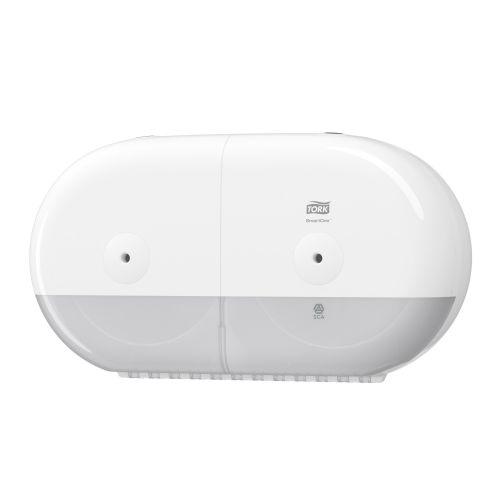 Tork 682000 SmartOne T9 Twin Mini Toilet Roll Dispenser White