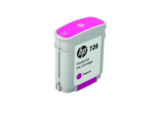 HP F9J62A 728 MAGENTA INK CARTRIDGE 40ML