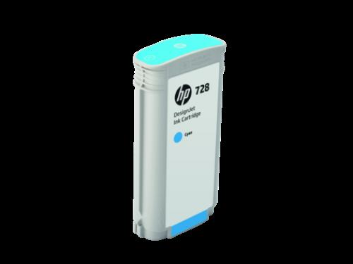 HP F9J67A 728 Cyan Ink 130ml