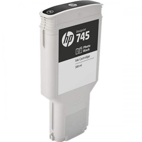 HP F9K04A 745 PHOTO BLACK INK CART 300ML
