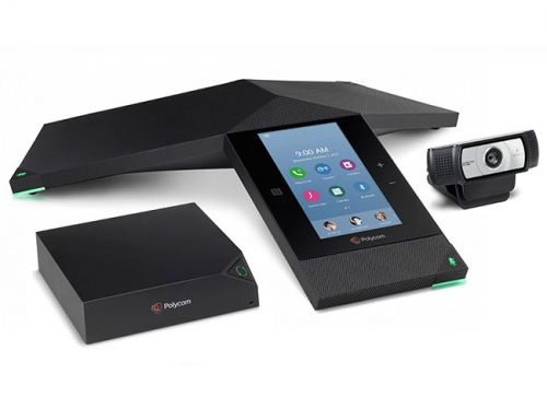 Polycom RealPresence Trio 8800 IP Conference Phone with Built In WiFi Bluetooth And NFC Power Over Ethernet Includes 25ft Ethernet Cable