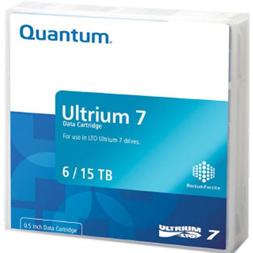 Quantum (6/15TB) 2.5:1 Compression 960m 750MB/s LTO-7 Ultrium Data Tape Cartridge (Purple)