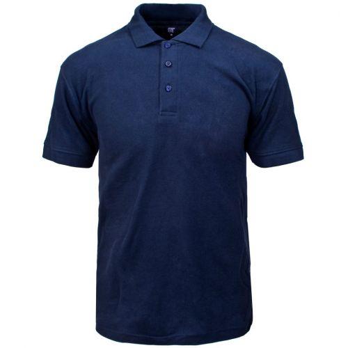 Click Leisurewear Click Pk Shirt Navy M  Clpksnm