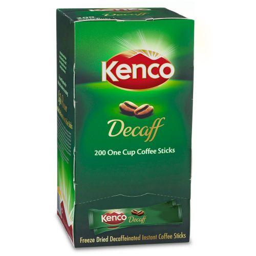 Kenco Decaffeinated Freeze Dried Instant Coffee Sticks 1.8g PK200