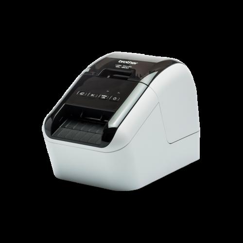 Brother Professional Label Printer 62mm Width Labels (Red & Black) QL800