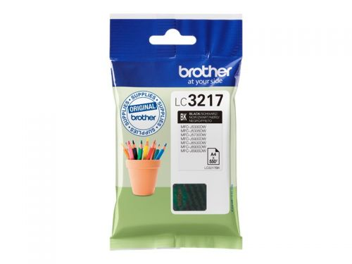 Brother LC3217BK Black Ink 15ml