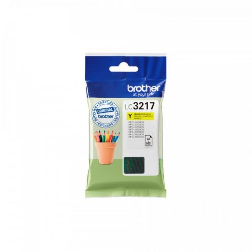 Brother LC3217Y Yellow Ink 9ml