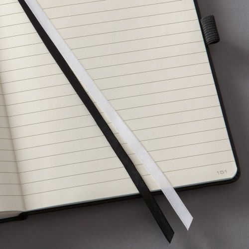 Sigel CONCEPTUM A4 Casebound Soft Cover Notebook Ruled 194 Pages Black