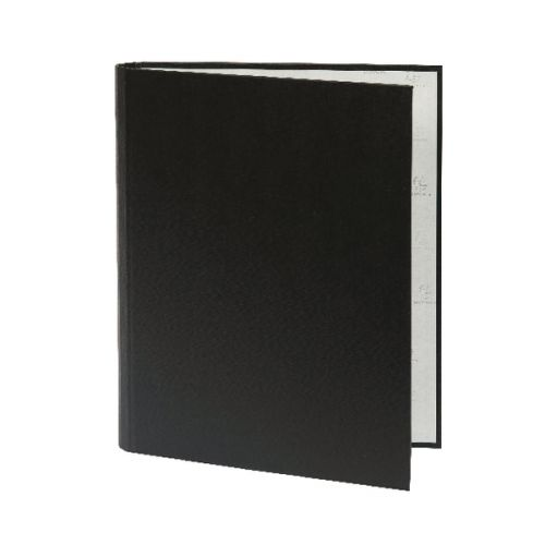 Guildhall Ring Binder Paper on Board 2 O-Ring 30mm Rings Black (Pack 10)