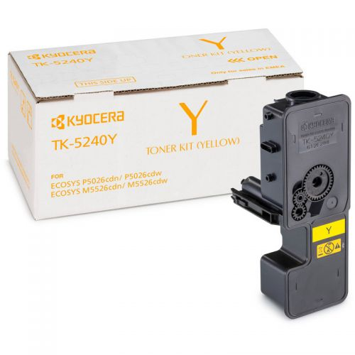 OEM Kyocera TK-5240Y Yellow 3000 Pages Original Toner