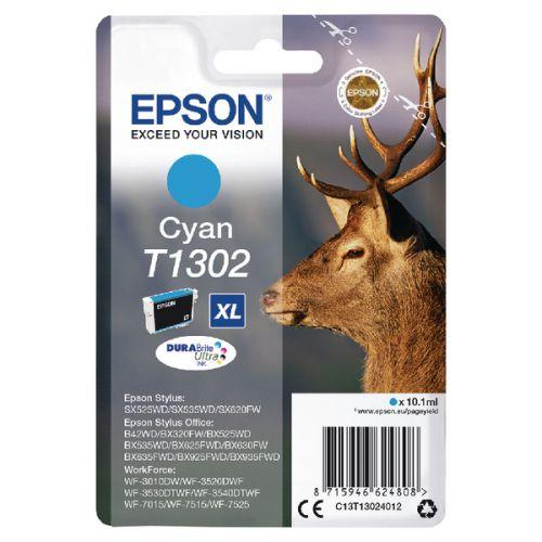 Epson C13T13024012 T1302 Cyan Ink 10ml