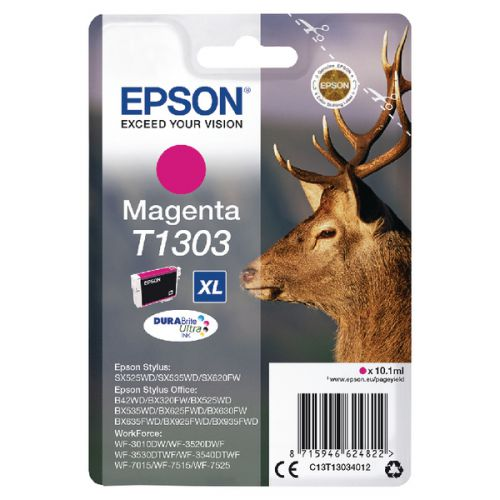 Epson C13T13044012 T1304 Yellow Ink 10ml