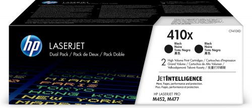 HP CF410XD 410X Black Toner 6.5K Twinpack