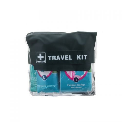 Astroplast Pouch 1 Person Travel First Aid Kit Green
