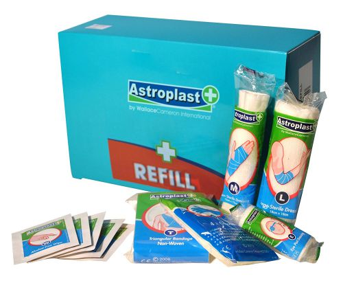 Astroplast 10 Person Food and Hygiene First Aid Kit Refill