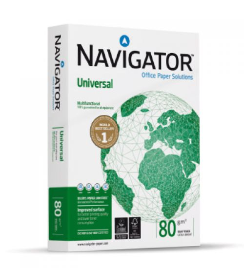 Navigator Universal Paper 80gsm A4 BX5 reams