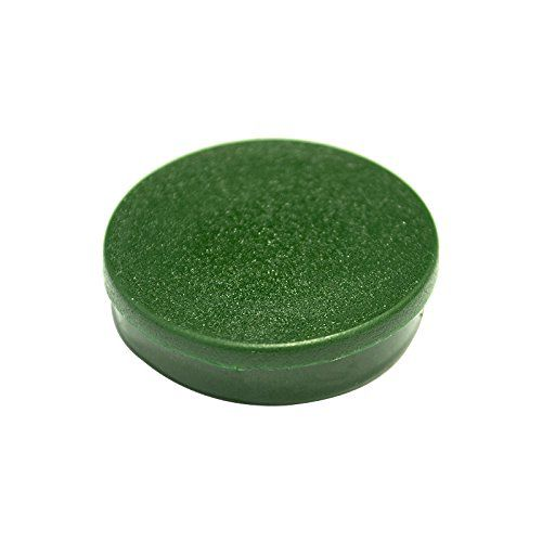 Bi-Office Round Magnets 10mm Green PK10