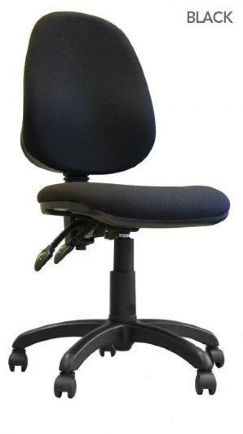 Java 200 High Back Operator Chair Black