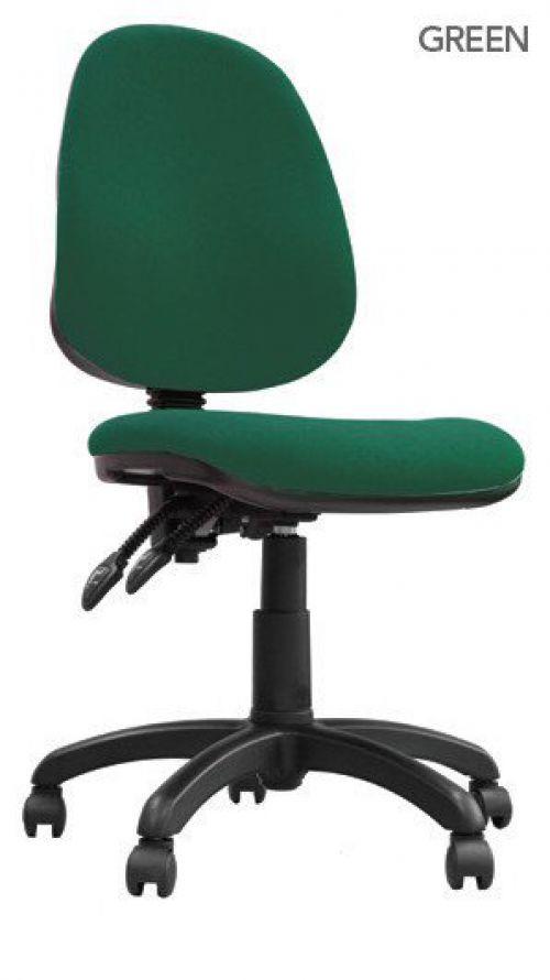 Java 200 High Back Operator Chair Green