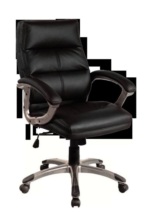 Greenwich Pu Managers Chair Black